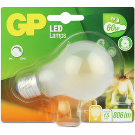 LED lamp E27 7W 806Lm classic filament mat