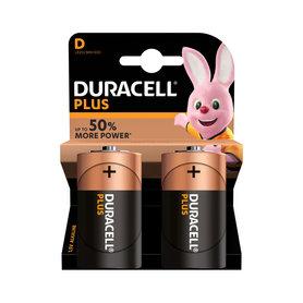 batterij alkaline plus power D 2st.