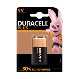 batterij alkaline plus power 9V 1st.