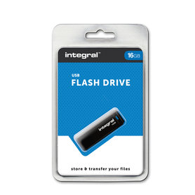USB 2.0 memory pen 16GB Black