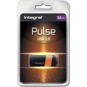 USB 2.0 memory pen 32GB oranje