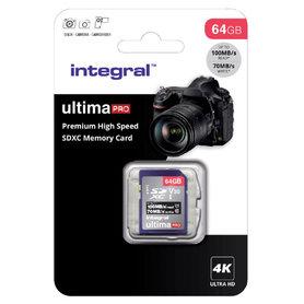 Secure Digital kaart 64GB SDXC - V30