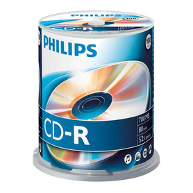 CD-R 700MB 52xspeed spindle 100 stuks
