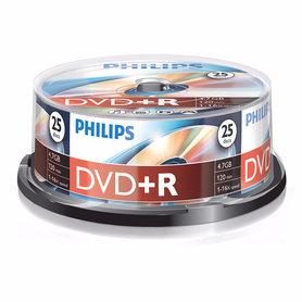 DVD+R 4,7GB 16xspeed spindle 25 stuks