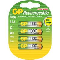 oplaadbare batterij NiMH 4xAAA 930mAh