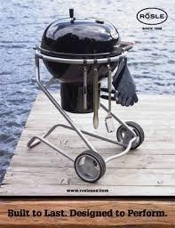 Rösle No.1 F60 Houtskoolbarbecue