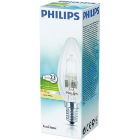 halogeenlamp E14 18W 204Lm kaars