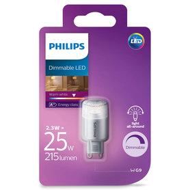 LED lamp G9 2,3W 215Lm capsule dimbaar