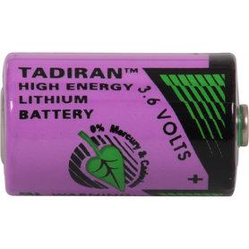 batterij 1/2AA 3,6V