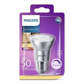 LED lamp PAR20 E27 6W 500Lm reflector dimbaar