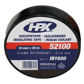 isolatieband 19mm 20m zwart