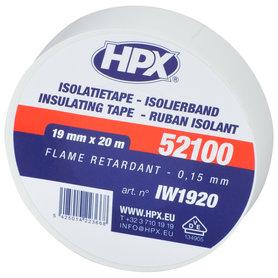 isolatieband 19mm 20m wit