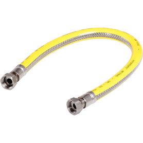 gasslang 125cm RVS flexibel PVC