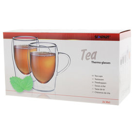 thee thermo glazen 2x30cl