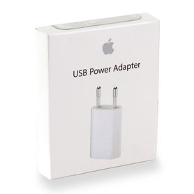 USB netvoeding adapter 1xUSB 5V-1A wit