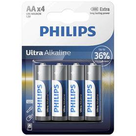 batterij alkaline ultra AA 4 stuks