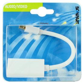 adapter kabel mini DisplayPort (M) - HDMI (F) 10cm