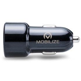 USB-C auto adapter 1xUSB-C, 1xUSB-A 4800mA