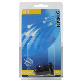 USB auto adapter mini 2x USB 3400mA