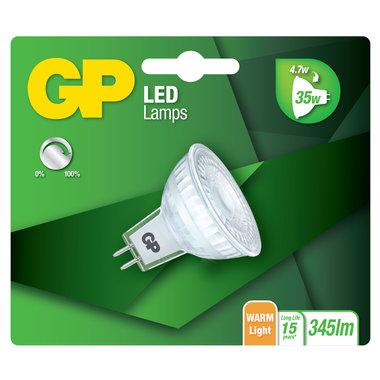 LED lamp GU5.3 4,7W 345Lm reflector dimbaar
