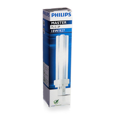 PL-C lamp 2 pins 18W kleur 827