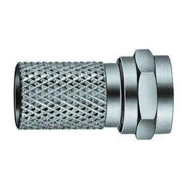 F-connector recht 7mm(M)