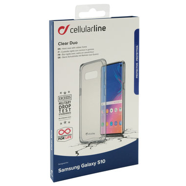 Samsung backcover Clear Duo transparant