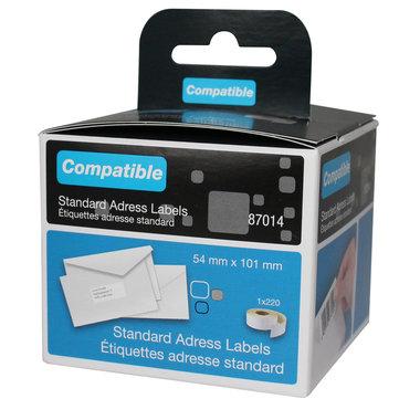 Dymo LW verzend- en naambadge- labels 54x101mm