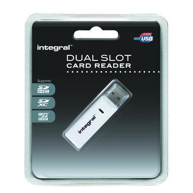 kaartlezer dual slot SD/micro SD > USB 2.0