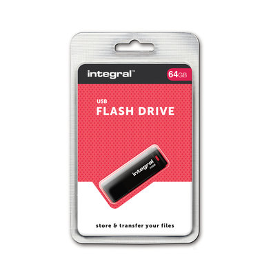 USB 2.0 memory pen 64GB Black