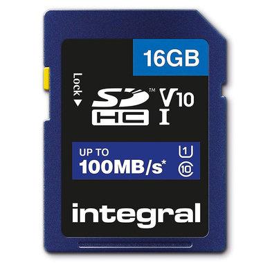 Secure Digital kaart 16GB SDHC - V10