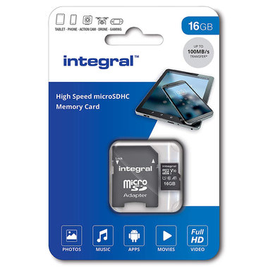 Secure Digital kaart 16Gb Micro SDHC - V10