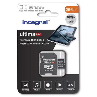 Secure Digital kaart 256Gb Micro SDXC - V30
