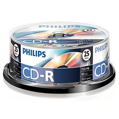 CD-R 700MB 52xspeed spindle 25 stuks