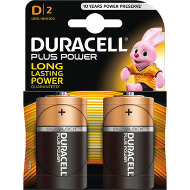 batterij alkaline plus power D A2