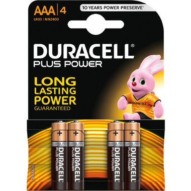 batterij alkaline plus power AAA A4