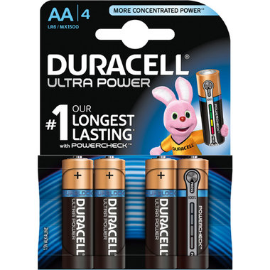 batterij alkaline ultra power AA A4
