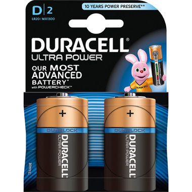 batterij alkaline ultra power D A2