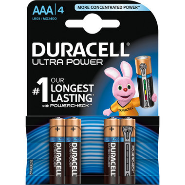 batterij alkaline ultra power AAA A4