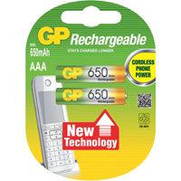 oplaadbare batterij NiMH AAA A2 650mAh