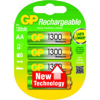 oplaadbare batterij NiMH AA A4 1300mAh