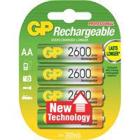 oplaadbare batterij NiMH 4xAA 2600mAh