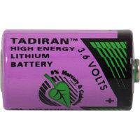 batterij 1/2AA 3.6V