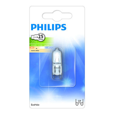 halogeenlamp G9 18W 204Lm capsule