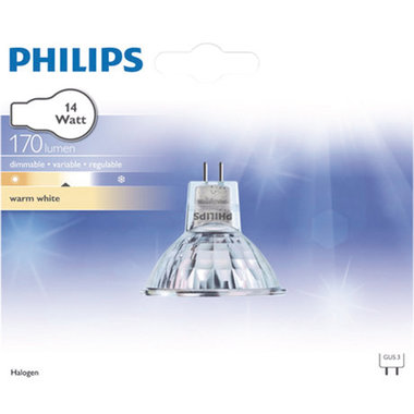 halogeenlamp GU5.3 14W 170Lm reflector
