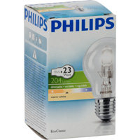 halogeenlamp E27 18W 204Lm classic