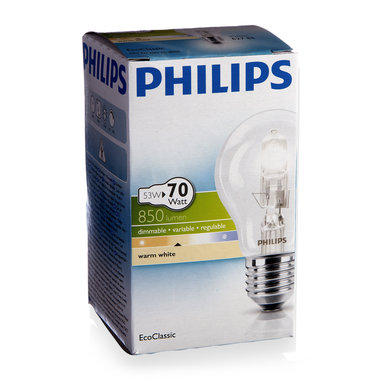 halogeenlamp E27 53W 850Lm classic