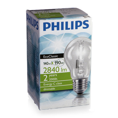 halogeenlamp E27 140W 2840Lm classic