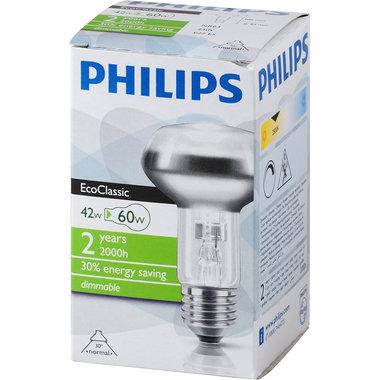 halogeenlamp E27 42W 270Lm R63