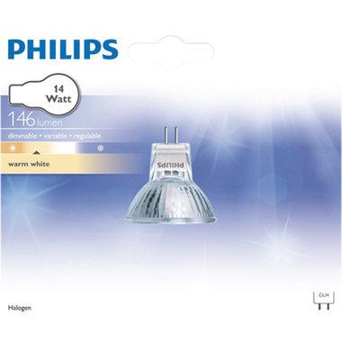 halogeenlamp GU4 14W 146Lm reflector